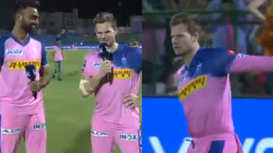 IPL 2019: WATCH- Steve Smith says Jaydev Unadkat cost him a mobile during the match