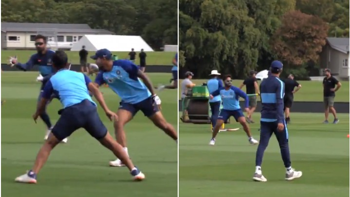 NZ v IND 2020: WATCH - India cricketers tried out new