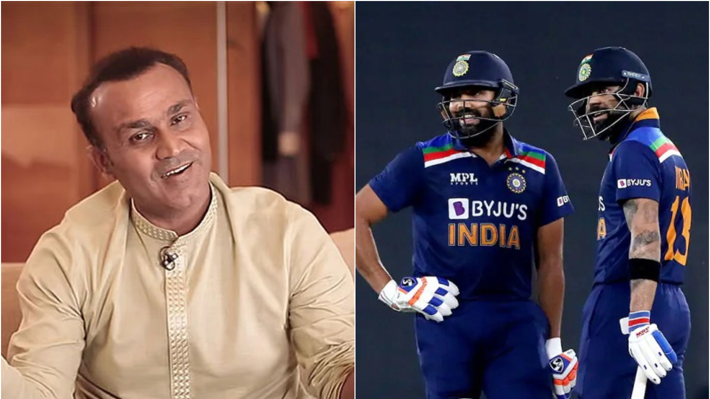 T20 World Cup 2021: Sehwag wants Kohli to bat at 3; shares an ideal opening partner for Rohit