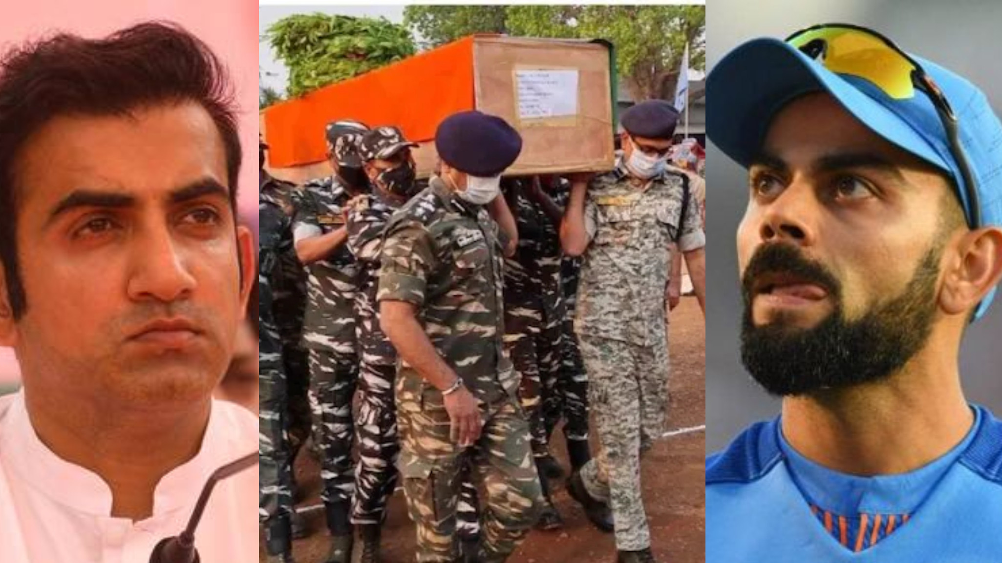 Indian cricketers pay tribute to 22 jawans martyred in Chhattisgarh Naxal attack