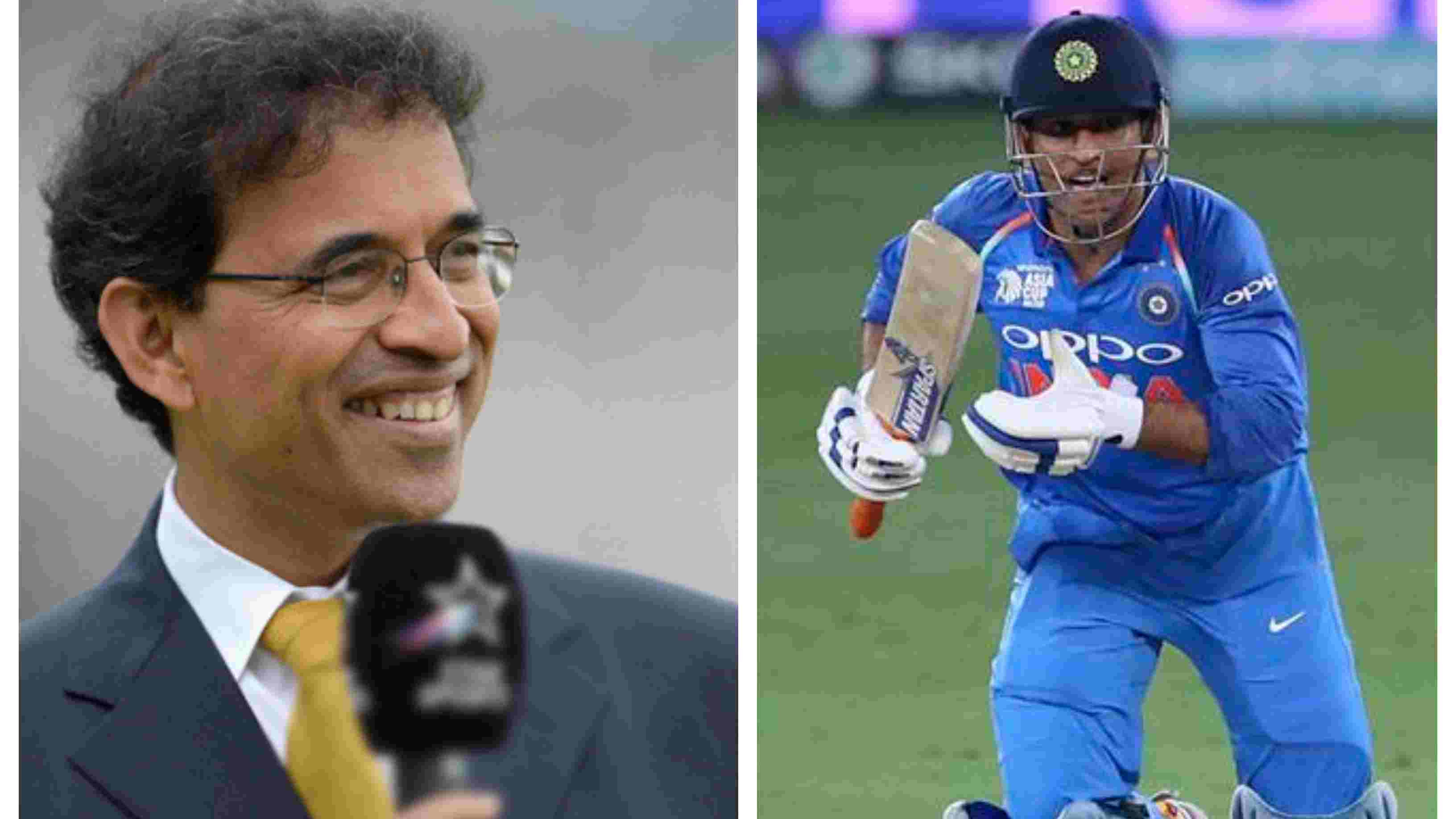 ASIA CUP 2018: Harsha Bhogle axes MS Dhoni from his best XI
