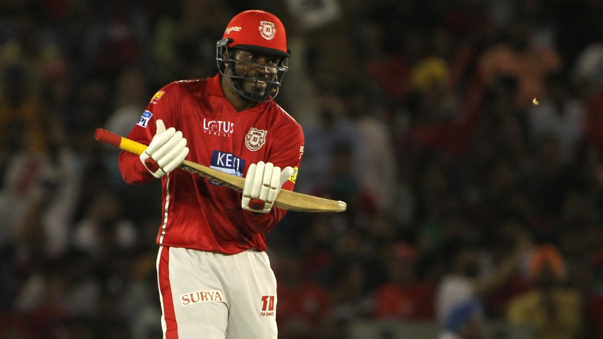 IPL 2018: KXIP v SRH- गेल के तूफानी शतक ने रोका हैदराबाद का विजयी रथ