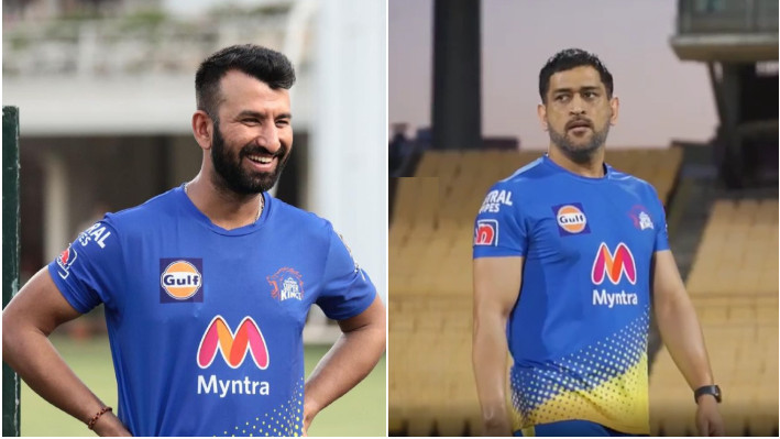 IPL 2021: Cheteshwar Pujara feels lucky to be playing under MS Dhoni for CSK