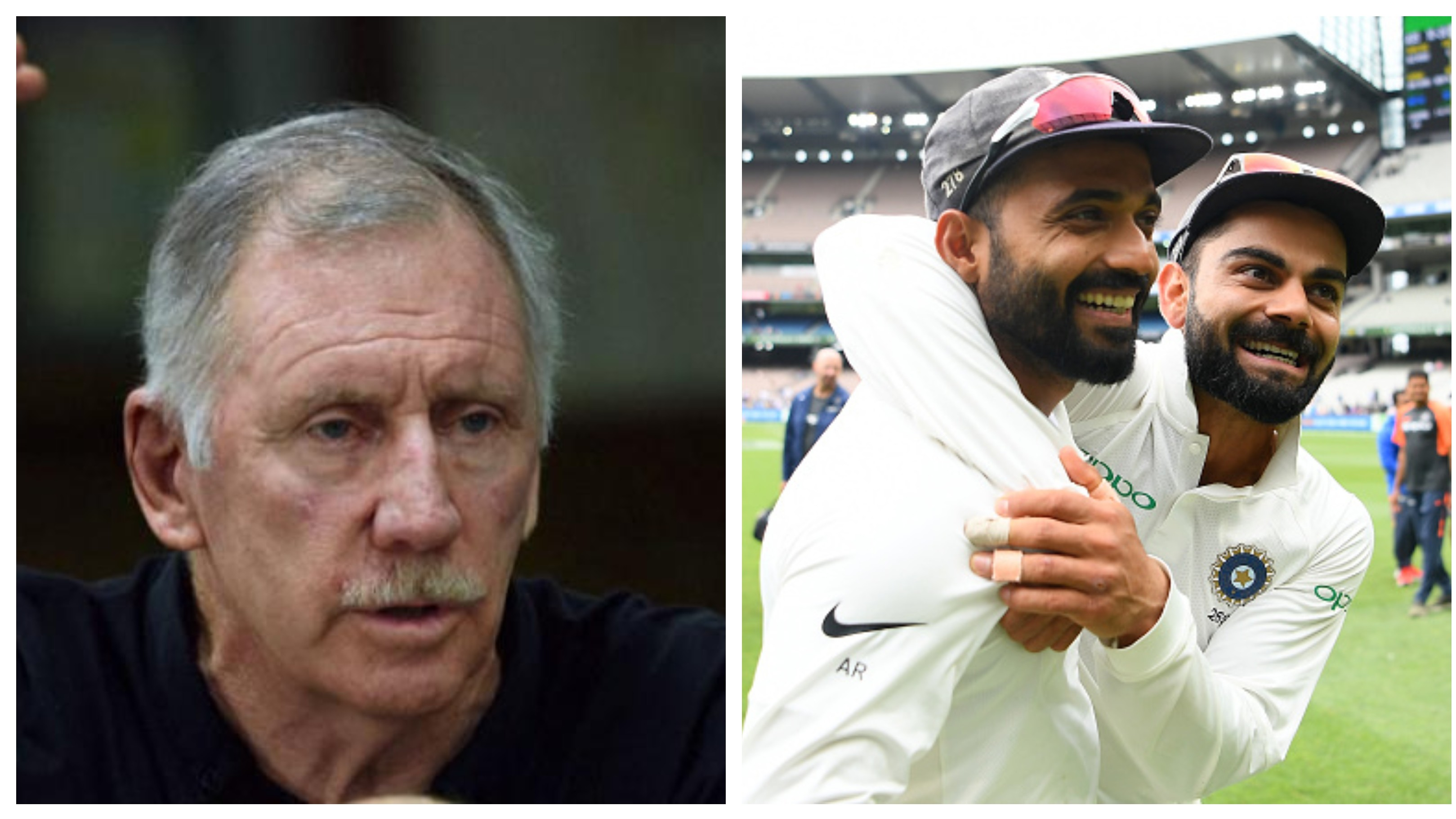 AUS v IND 2020-21: WATCH - Ian Chappell backs Ajinkya Rahane to fill Virat Kohli's void in the Test series