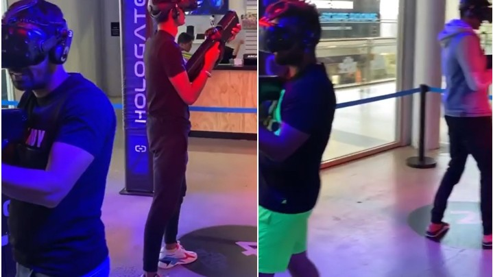 NZ v IND 2020: WATCH - Indian cricketers enjoy session of VR games in Hamilton