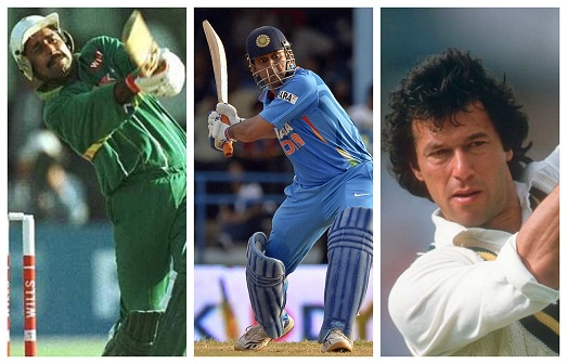 Javed Miandad, MS Dhoni and Imran Khan is a scary lower middle order to bowl to