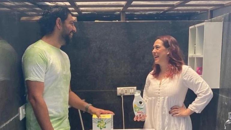 Yuvraj Singh and Hazel Keech | Instagram