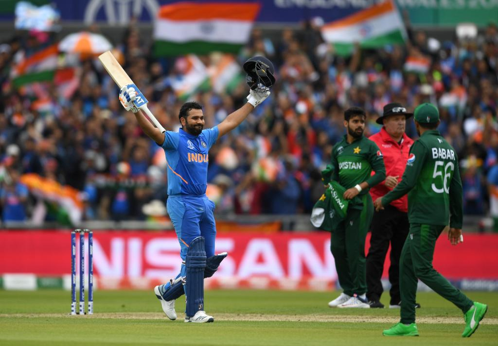Rohit Sharma's highest score of 140 in 2019 WC came against Pakistan
