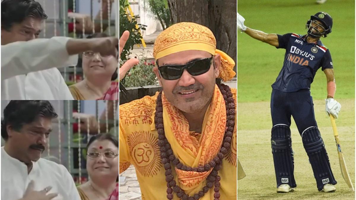 SL v IND 2021: Virender Sehwag praises Deepak Chahar using a meme from MS Dhoni's movie