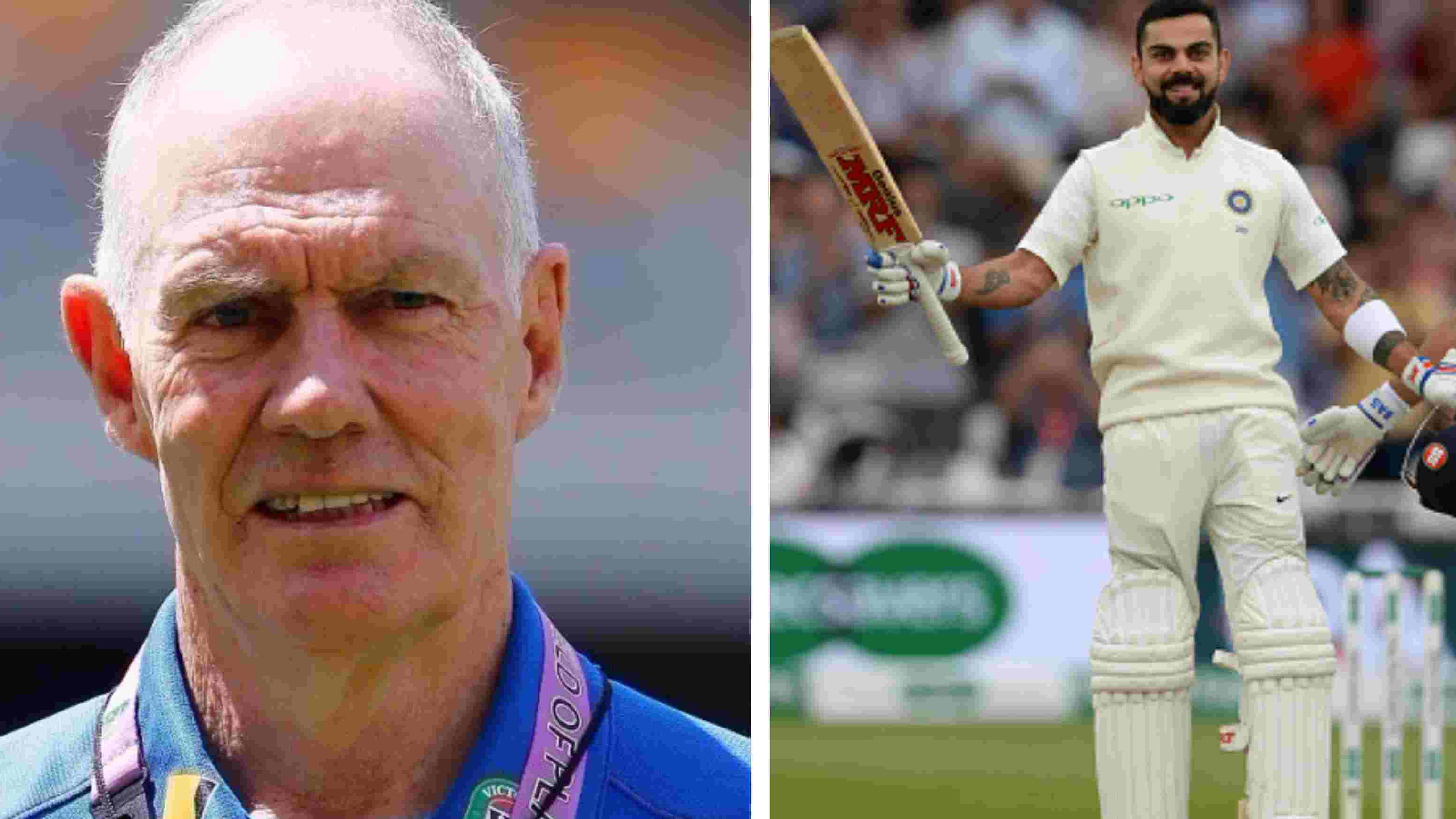 ENG v IND 2018: Virat Kohli's best is yet to come, reckons Greg Chappell