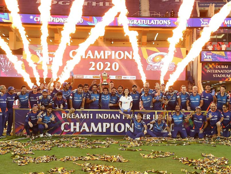 Mumbai Indians won their 5th IPL title by beating Delhi Capitals in the final | BCCI/IPL