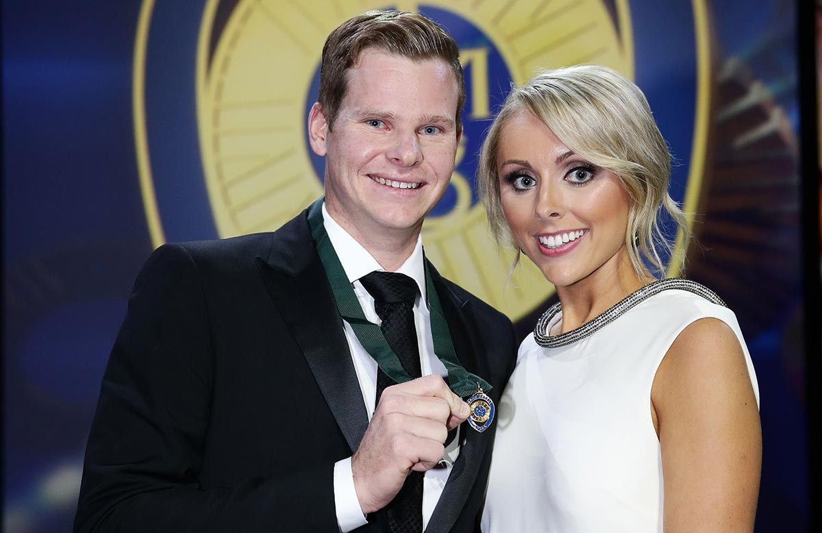 Steve Smith and Dani Willis were dating for many years   Getty