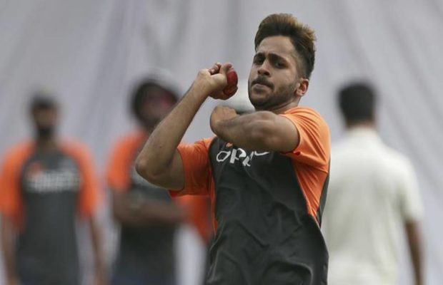 Shardul Thakur made Test debut in Hyderabad against the West Indies | Getty Images