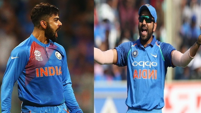 Twitter surprised as Indian cricketer Rohit Sharma likes anti-Virat Kohli tweets