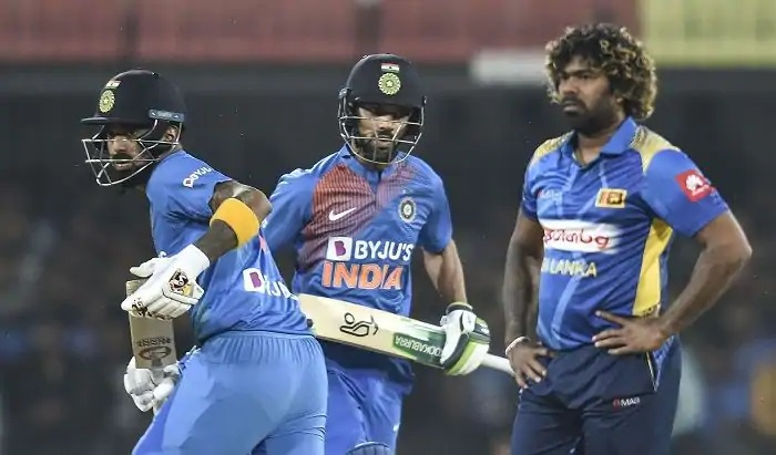 KL Rahul and Shikhar Dhawan | AFP