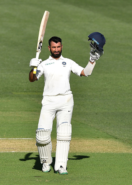 Cheteshwar Pujara also completed 5,000 runs in Tests   GETTY