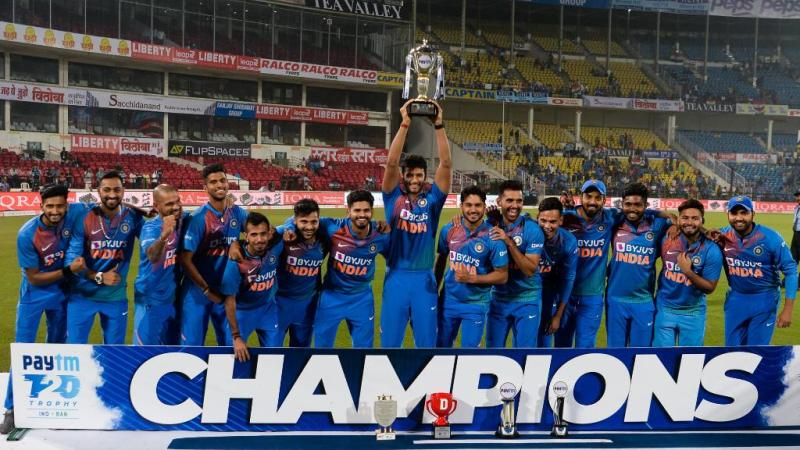 Team India continued their winning ways | AFP