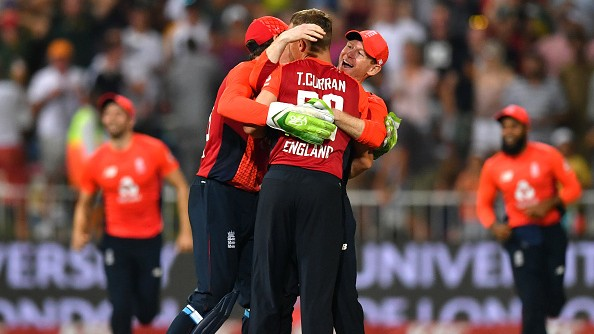 SA v ENG 2020: Morgan hails England's bowling unit after two-run win in Durban T20I