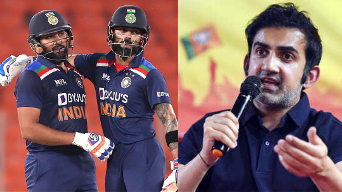 Virat Kohli, Rohit Sharma will have a huge responsibility when India take on Pakistan in T20 World Cup - Gambhir