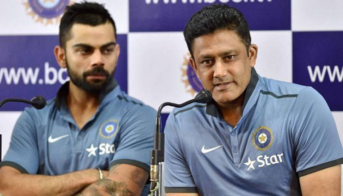 Kumble is hoping for a good Indian performance against England. (PTI)