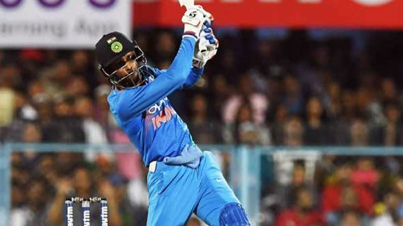 IRE vs IND 2018: Watch: Hardik Pandya playing a helicopter shot against Ireland in the 1st T20I