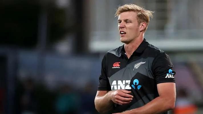 Kyle Jamieson of New Zealand | Getty