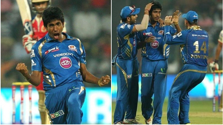 IPL 2021: Jasprit Bumrah posts throwback pictures on 8th anniversary of his IPL debut