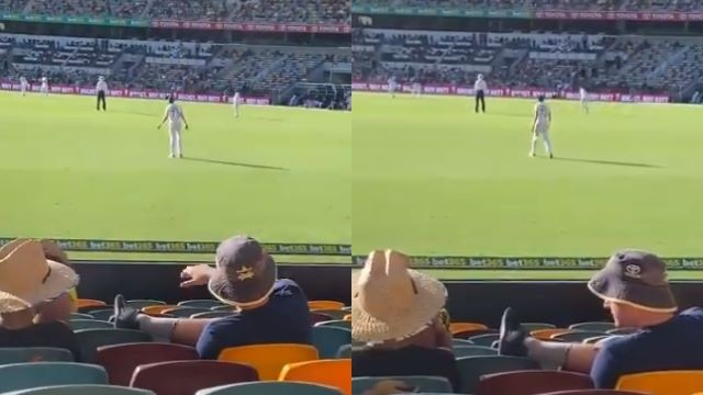 AUS v IND 2020-21: WATCH - Hostile crowd calls Mohammed Siraj 'a bloody grub' on Day 1 at the Gabba