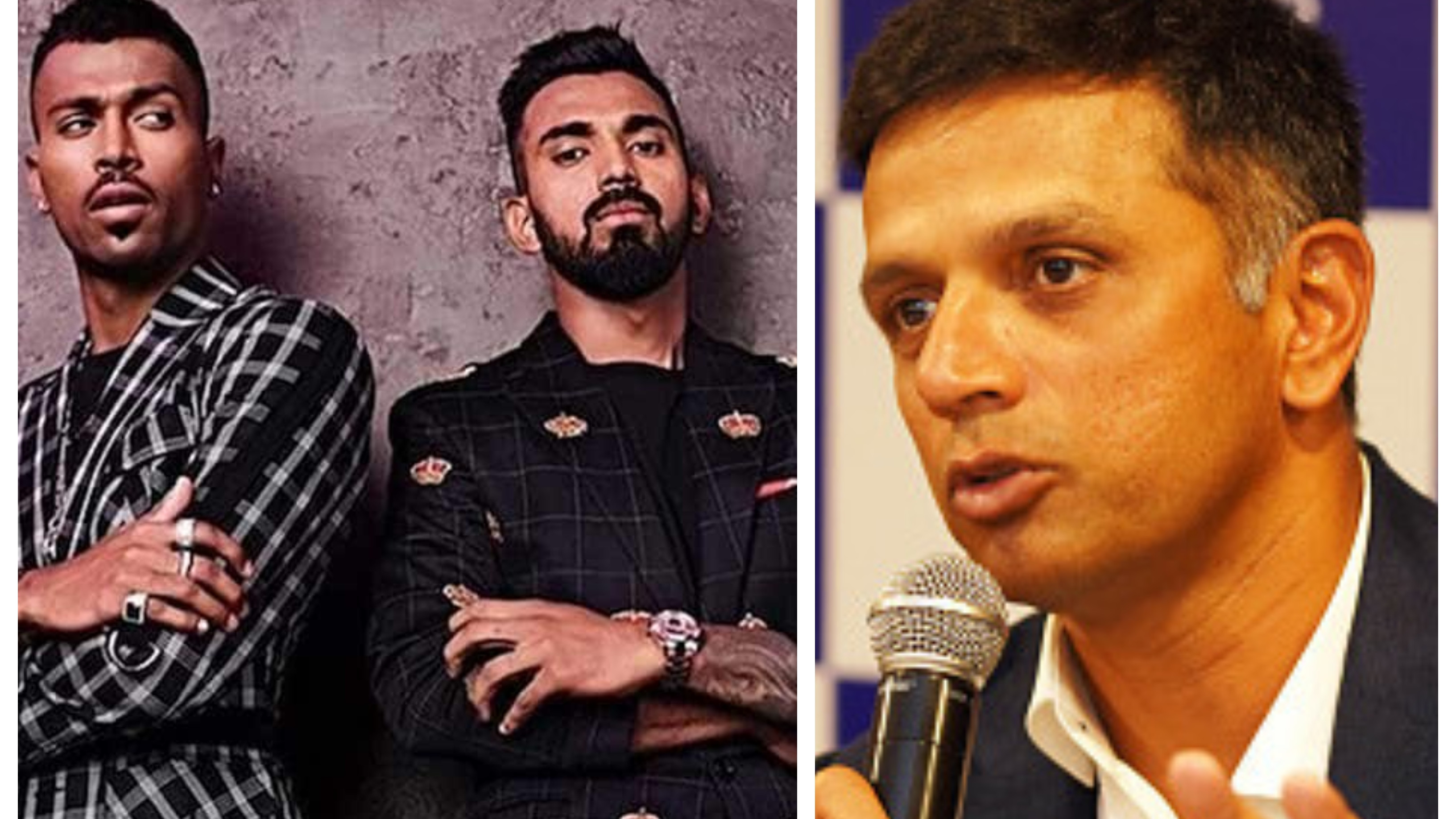 Dravid glad with CoA's decision to lift the suspensions on Hardik Pandya and KL Rahul