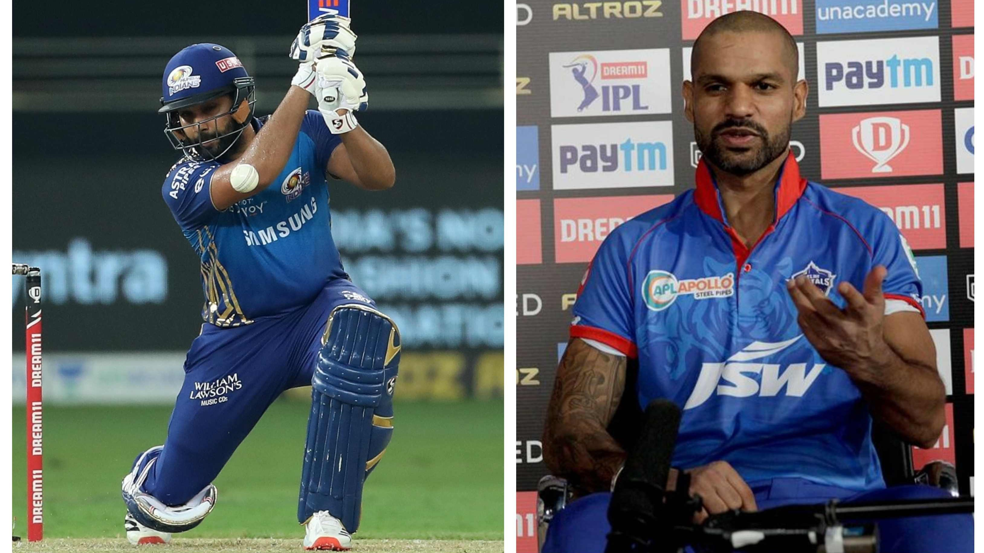 IPL 2020: Shikhar Dhawan says DC will look to exploit Rohit Sharma's lack of form since returning from injury