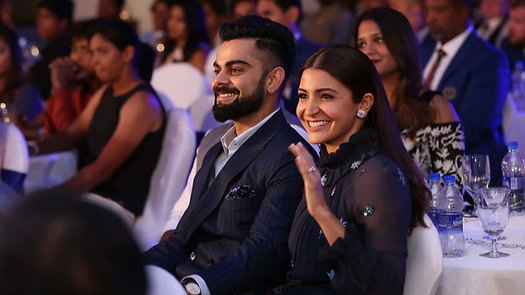 WATCH- Virat Kohli says that presence of Anushka Sharma makes the BCCI award more 'special'