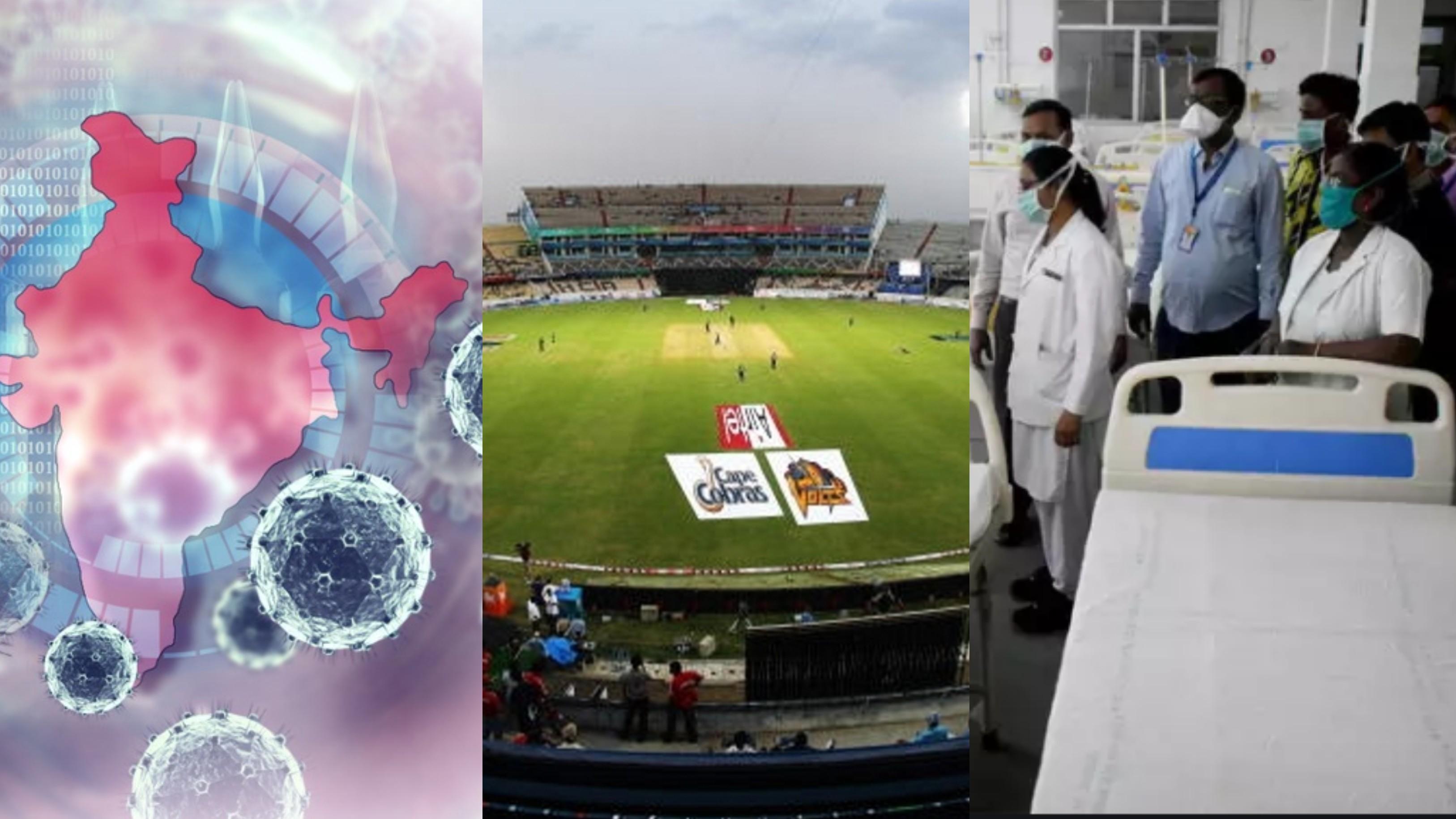 Hyderabad Cricket Association offers Rajiv Gandhi Stadium for setting up isolation center amid COVID-19 crisis