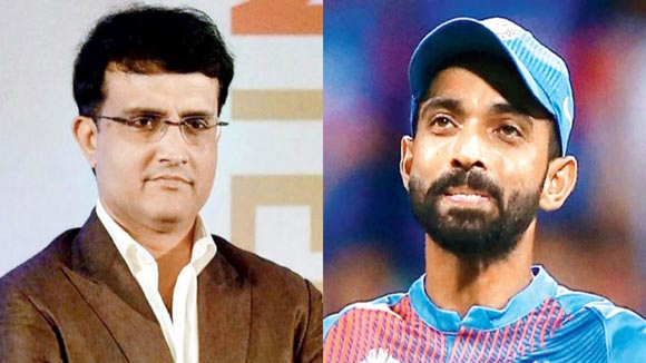 Sourav Ganguly surprised with Ajinkya Rahane's exclusion from India's ODI squad for England tour