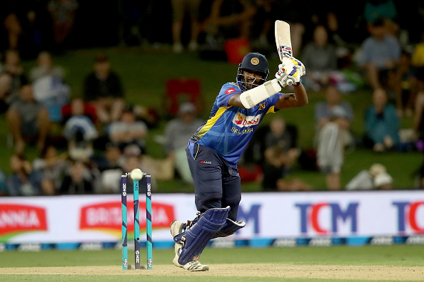 Thisara Perera almost pulled off a heist for Sri Lanka with his spectacular knock of 140 | Getty