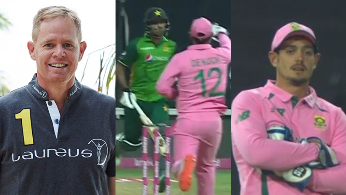 SA v PAK 2021: Definitely done on purpose to try and deceive- Pollock on De Kock-Zaman run out incident