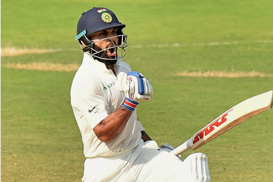 Kohli as a cricketer is all aggression. (Getty)