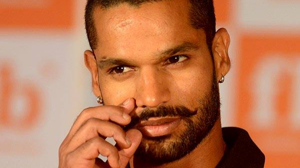 Shikhar Dhawan gives an apt reply to Shahid Afridi's tweet on Kashmir