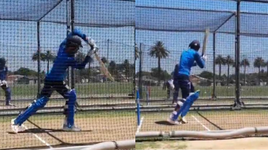 NZ v IND 2019: WATCH- Shubman Gill practices in the net for the first time with India's senior team