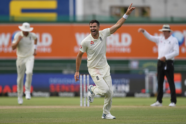 Anderson enjoyed great outing in the second Test | Getty Images