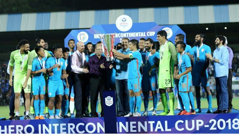 Virat Kohli congratulates the Indian football team for becoming the Intercontinental Cup champions