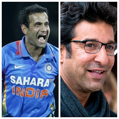 Irfan Pathan talks about the moment Wasim Akram gave him tips and guided him