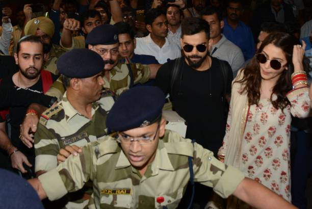 Virat Kohli and Anushka Sharma | GETTY