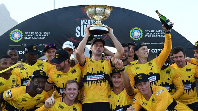 Jozi Stars clinch the inaugural MSL title by beating Cape Town Blitz in the final
