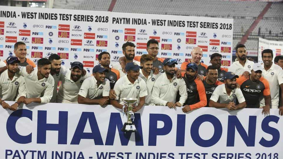 IND v WI 2018: COC presents Team India players' ratings for West Indies series