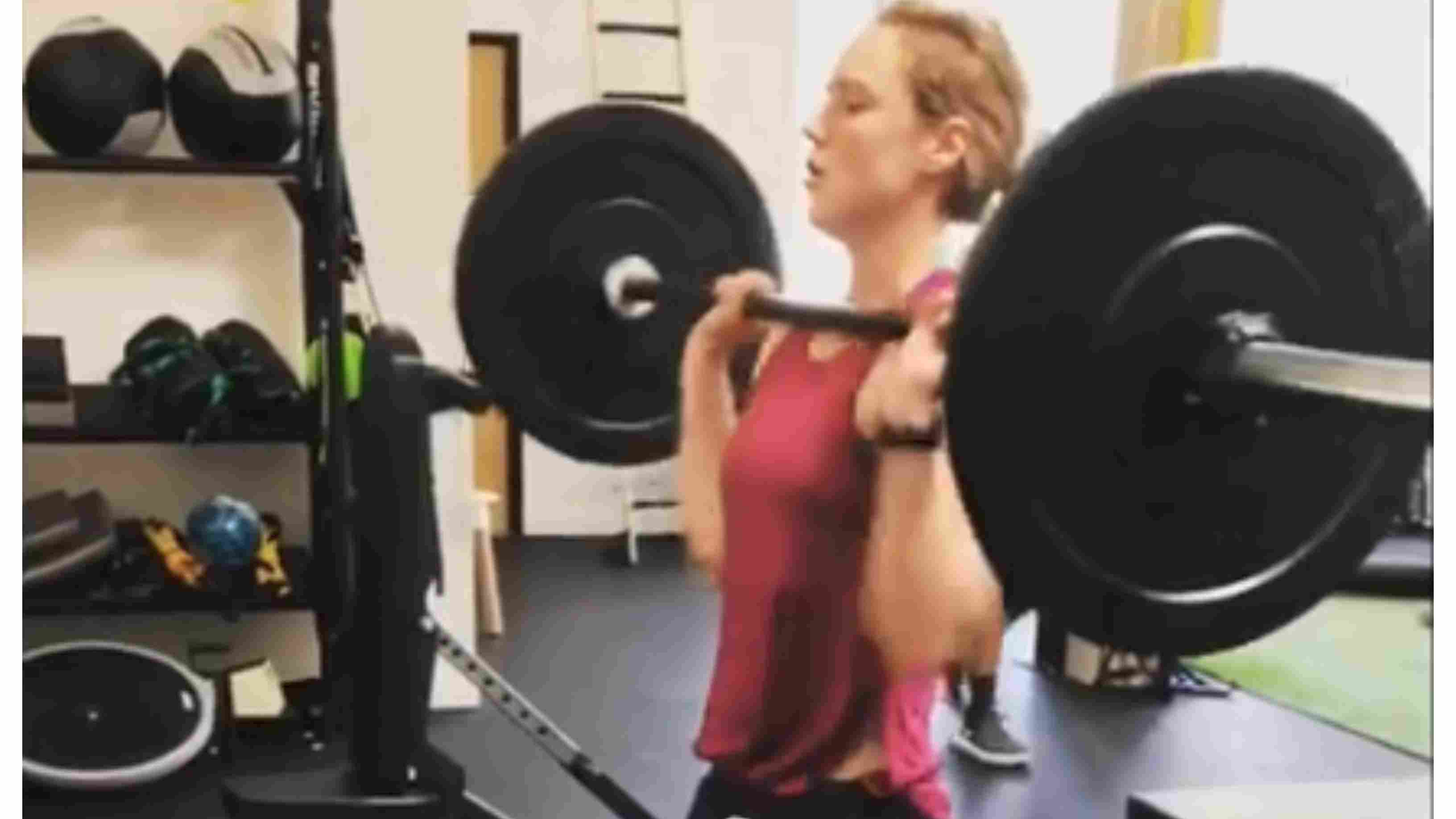 Watch: Ellyse Perry's intense workout session in the gym