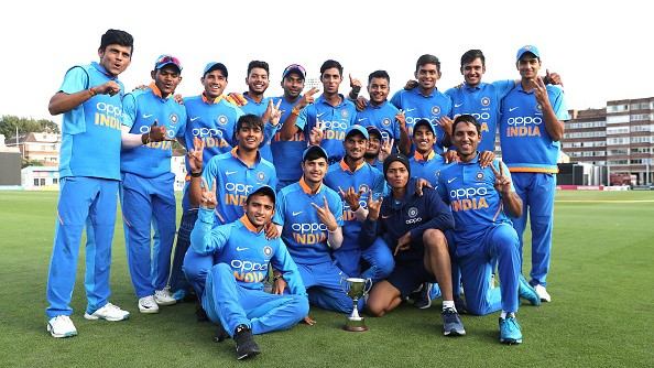 India announces 15-member squad for ICC U-19 World Cup 2020
