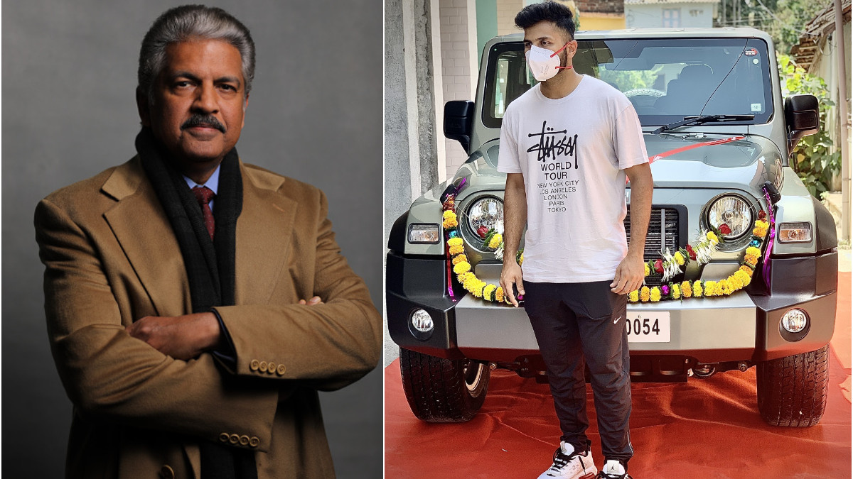 Thank you for making the nation proud- Anand Mahindra gifts SUV to Shardul Thakur