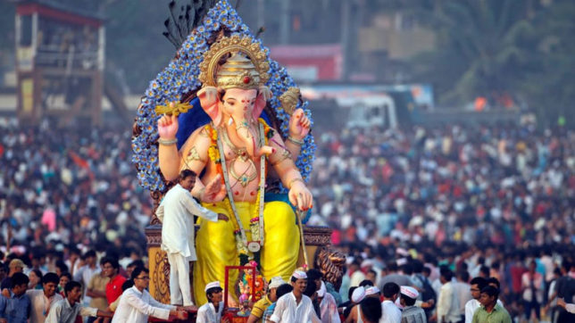 Ganesh Chaturthi marks the occasion of the birth of Lord Ganesh
