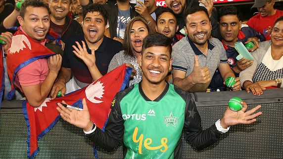 BBL 2018-19: Playing in the Big Bash League a dream come true for Sandeep Lamichhane
