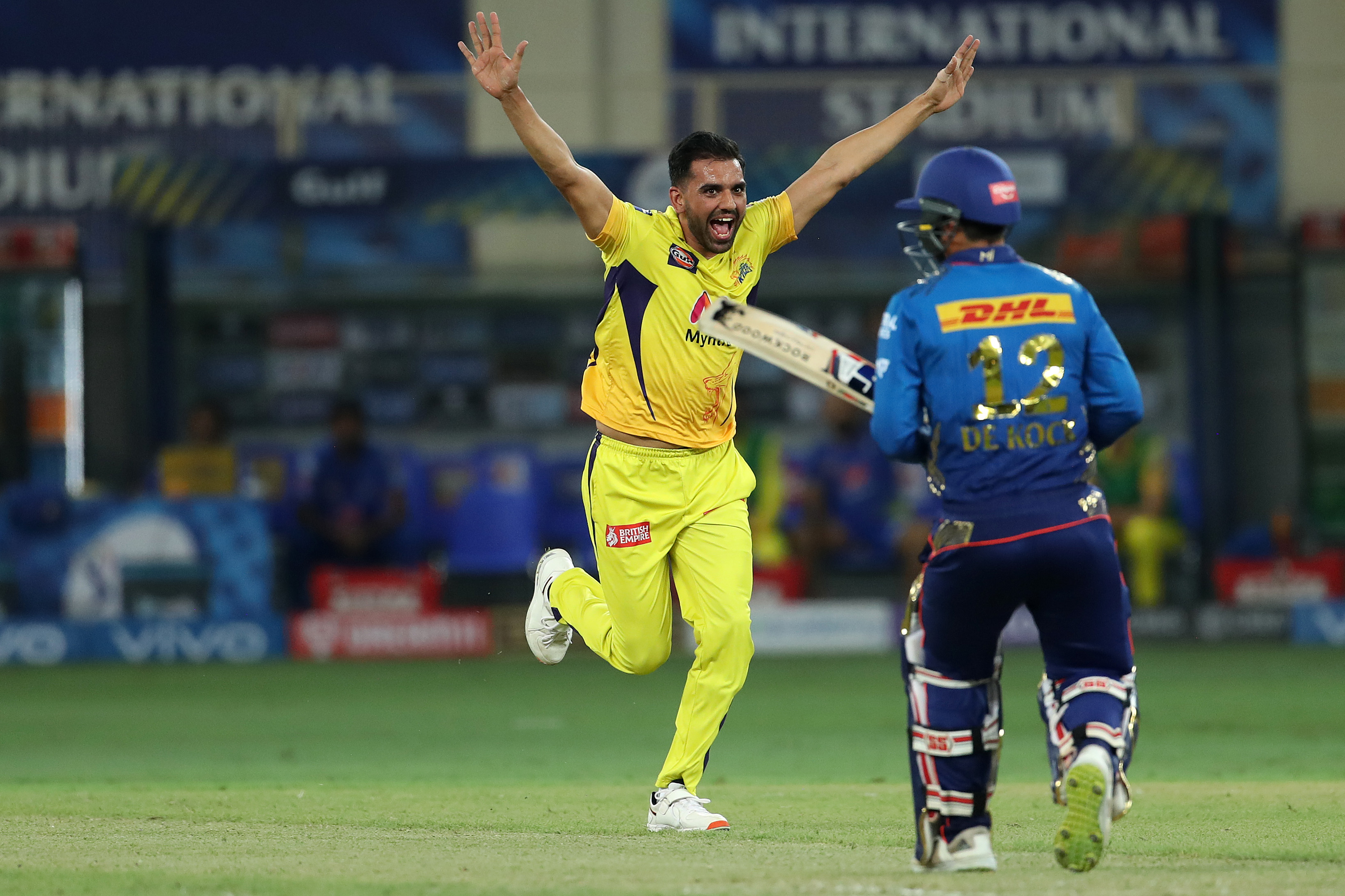 Deepak Chahar starred with the ball for CSK   BCCI/IPL
